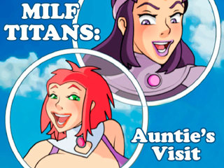 Milf Titans: Auntie's Visit